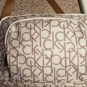 calvin klein cross bag nylon